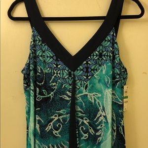 Super cute Hawaiian print dress!